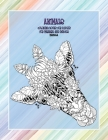 Mandala Coloring Books for Adults for Markers and Pencils - Animals Cover Image