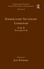 Volume 18, Tome II: Kierkegaard Secondary Literature: English, a - K (Kierkegaard Research: Sources) Cover Image