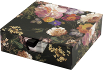 Midnight Floral Desk Notes (Note Pad) Cover Image