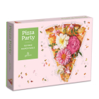 Pizza Party 750 Piece Shaped Puzzle Cover Image