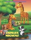 ANIMAUX MIGNONS - Livre De Coloriage Pour Enfants: Animaux de Mer, Animaux de Ferme, Animaux de Jungle, Animaux Des Bois Et Animaux de Cirque Cover Image