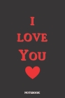 I Love You: What I Love About You Fill In The Blank Book - Funny Valentines Day Gift For Her - Funny I Love You Gifts For Him Cover Image