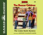 The Comic Book Mystery  (Library Edition) (The Boxcar Children Mysteries #93) Cover Image