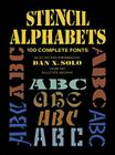 Stencil Alphabets (Dover Pictorial Archives) Cover Image