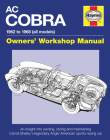 AC/Shelby Cobra: 1962 to 1968 (all models) (Owners' Workshop Manual) Cover Image