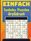 Einfaches Sudoku: Sudoku-Rätsel-Buch Cover Image