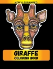 Giraffe Coloring Book: A Fun Coloring Gift Book for Animals Lovers & Adults Cover Image