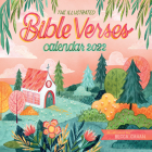The Illustrated Bible Verses Wall Calendar 2022: A Year of Words to Inspire Devotion. Cover Image