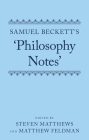 Samuel Beckett's 'philosophy Notes' Cover Image