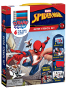 Drawmaster Marvel Spider-Man: Super Stencil Kit: 4 Easy Steps to Draw Your Heroes Cover Image