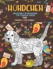 Malbücher für Erwachsene für Teenager-Jungen - Mandala Stressabbau - Tiere - Hündchen Cover Image