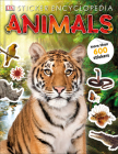 Sticker Encyclopedia Animals (Sticker Encyclopedias) Cover Image