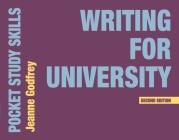 Writing for University (Pocket Study Skills) Cover Image