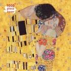 Klimt: The Kiss Jigsaw: 1000 Piece Jigsaw Puzzle (1000-Piece Jigsaws) Cover Image
