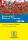 Langenscheidt Universal-Phrasebook Italian Cover Image