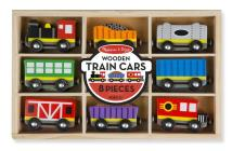 Wooden Train Cars Cover Image