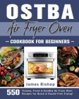 OSTBA Air Fryer Oven Cookbook for beginners Cover Image