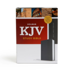 KJV Study Bible, Full-Color, Charcoal Cloth-Over-Board: Study Notes, Articles, Illustrations, Ribbon Marker, Easy to read Bible font Cover Image