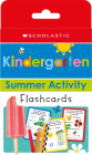 Kindergarten Summer Activity Flashcards: Scholastic Early Learners (Flashcards) Cover Image
