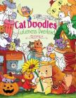 Cat Doodles Cuteness Overload Coloring Book for Adults and Kids: A Cute and Fun Animal Coloring Book for All Ages Cover Image