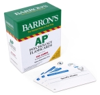 AP Psychology Flashcards (Barron's Test Prep) Cover Image