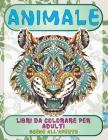 Libri da colorare per adulti - Scene all'aperto - Animale Cover Image