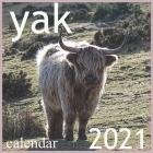 yak: 2021 Wall & Office Calendar, 12 Month Calendar Cover Image