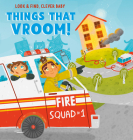 Things that Vroom! (Look & Find, Clever Baby) Cover Image