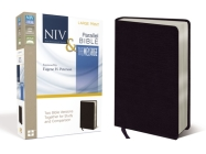 Side-By-Side Bible-PR-NIV/MS-Large Print: Two Bible Versions Together for Study and Comparison Cover Image