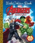Little Golden Book Avengers Adventures (Marvel) Cover Image