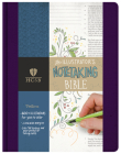 HCSB Illustrator's Notetaking Bible, Purple Linen Cover Image