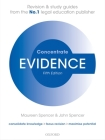 Evidence Concentrate: Law Revision and Study Guide Cover Image