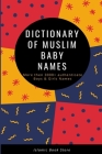 Dictionary of Muslim Baby Names Cover Image