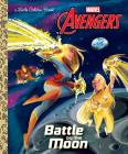 Battle on the Moon (Marvel Avengers) (Little Golden Book) Cover Image