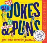 294 Bad Jokes & 71 Punderful Puns Page-A-Day Calendar 2017 Cover Image
