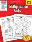 Scholastic Success With Multiplication Facts: Grades 3–4 Workbook Cover Image