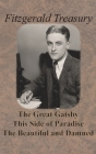 Fitzgerald Treasury - The Great Gatsby, This Side of Paradise, The Beautiful and Damned Cover Image
