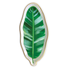 Banana Leaf Shaped Medium Porcelain Tray Cover Image