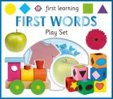 First Learning First Words play set (First Learning Play Sets) Cover Image