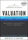 Valuation: Measuring and Managing the Value of Companies (Wiley Finance) Cover Image