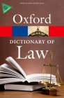 A Dictionary of Law Cover Image