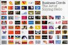 Business Cards: The Art of Saying Hello Cover Image