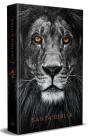 Biblia Reina Valera 1960 letra grande. Tapa dura, León de Judá, tamaño manual/ S panish Bible RVR 1960. Handy Size, Large Print, Hardcover, Lion of Judah Cover Image
