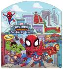 Marvel Super Hero Adventures The Amazing Chase: A Move-Along Storybook Cover Image