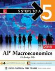 5 Steps to a 5: AP Macroeconomics 2018, Elite Student Edition Cover Image