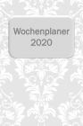 Wochenplaner 2020: Wochenansicht auf 2 Seiten Cover Image