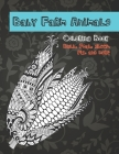 Baby Farm Animals - Coloring Book - Bull, Foal, Sheep, Pig, and more Cover Image