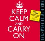 Keep Calm and Carry On Page-A-Day Calendar 2020 Cover Image