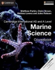 Cambridge International AS and A Level Marine Science Coursebook Cover Image