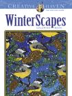 Creative Haven Winterscapes Coloring Book (Creative Haven Coloring Books) Cover Image